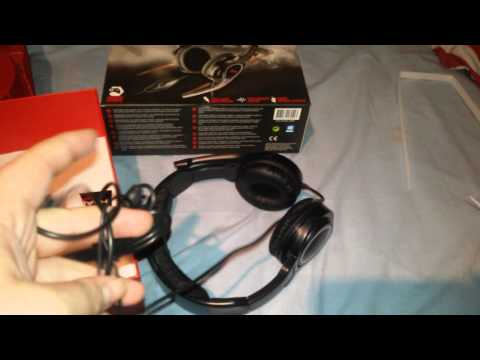 Review and unboxing trust deep bass gxt 10 headset