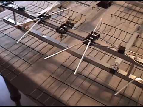 Db8 TV Antenna Assembly and Review