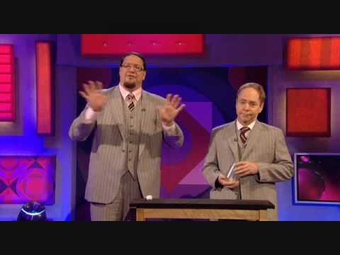Penn & Teller Explain Ball & Cups on Jonathan Ross 2010.07.09 (Part 2)