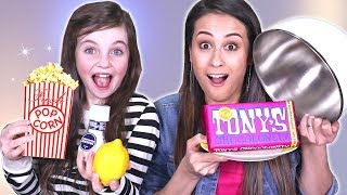 TONY'S CHOCOLONELY vs. REAL FOOD CHALLENGE! met BIBI! || Let's Play