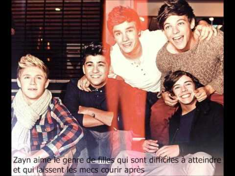 One Direction Facts in French - One Direction Facts en Francais.