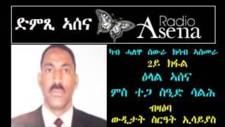 Voice of Assenna: Interview with Mr Said Saleh Regarding PFDJ Conspiracies Part 2