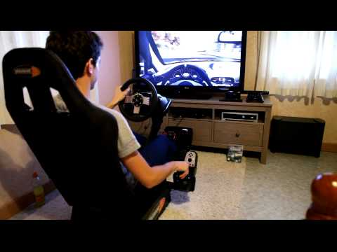 Lorenzo Ft. PLayseat GT + G27 logitech Racing Wheel