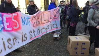 'BRIDGES NOT WALLS' - OXFORD
