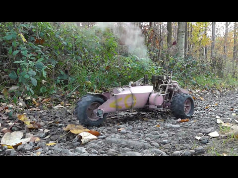 RC Live Steam Trike