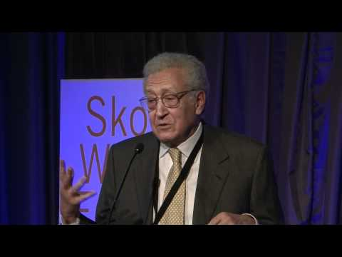 Lakhdar Brahimi: How to make peace in countries in conflict