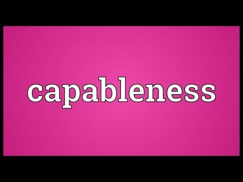 Header of capableness