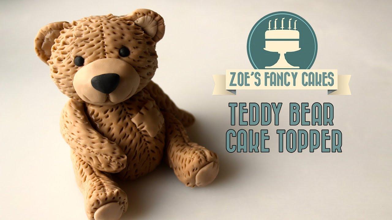 How To Make A Teddy Bear Cake Tutorial