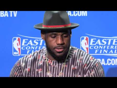 What LeBron James said after the Cavaliers defeat the Hawks in Game 3