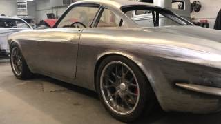 1968 Volvo P1800 body modifications