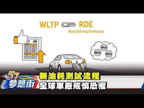 台灣-57夢想街 預約你的夢想-20180801 新油耗測試流程 全球車廠戒慎恐懼