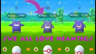 Pokemon Go - Shiny Gengar Hunter