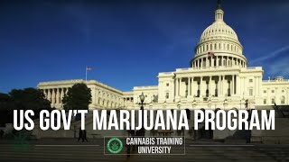 U.S GOVERNMENT MARIJUANA PROGRAM!  4/21/13