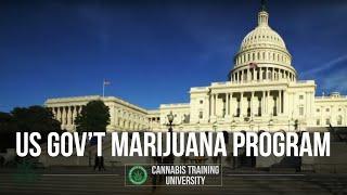 U.S GOVERNMENT MARIJUANA PROGRAM!  4/21/13