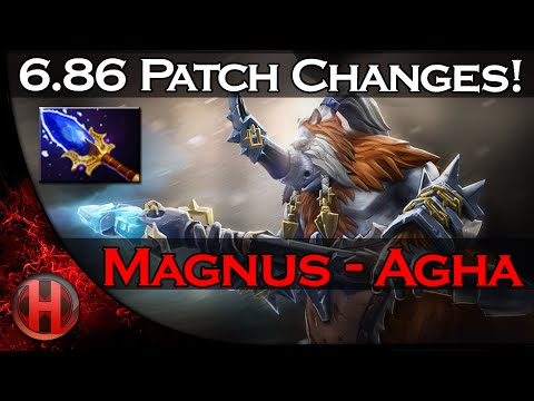 6.86 Patch Changes Dota 2 - Magnus Aghanim's Scepter Update!