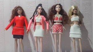 Little Mix - Black Magic Barbie kıyafeti (Play Doh)