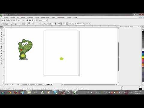separacion de colores en corel draw