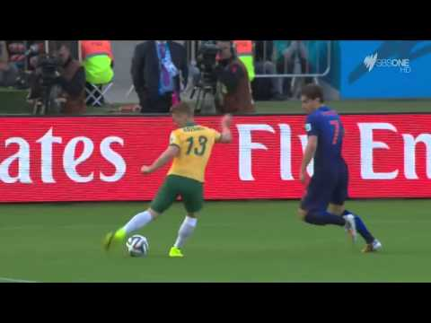 FIFA World Cup 2014  Australia vs Netherlands Highlights