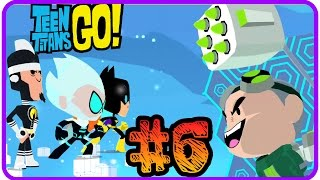 ► MINITITANES - TEEN TITANS GO: #6 ★ GAMEPLAY★ ESPAÑOL (TEENY TITANS) CARTOON NETWORK