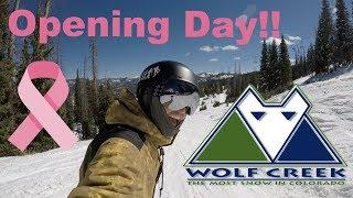 First Colorado Mountain To Open In Colorado!!  - Wolf Creek Colorado - (Season 3, Day 3)