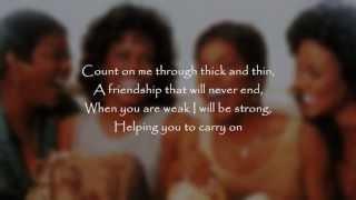 download lagu Whitney Houston & Cece Winans - Count On Me gratis