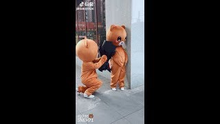 Top Funny Brown Bear and Kumamon in Tik Tok/Douyin
