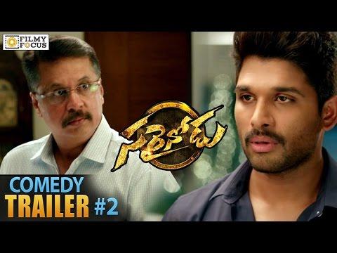 Allu Arjun Love Letter Comedy Scene    Sarainodu Trailer - Filmyfocus.com