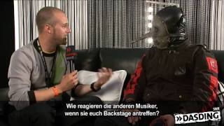 Rock am Ring 2009 - Slipknot im Interview - DASDING