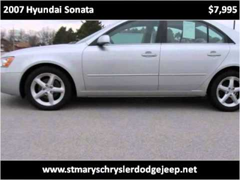 2007 Hyundai Sonata Used Cars Saint Marys OH