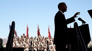 President Obama Speaks to Troops at Camp Pendleton  8/8/13