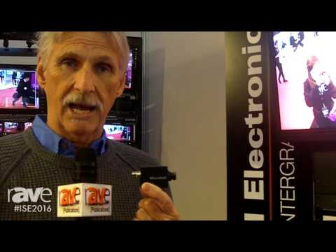ISE 2016: Marshall Electronics Showcases CV-502-M Mini-POV Broadcast Camera
