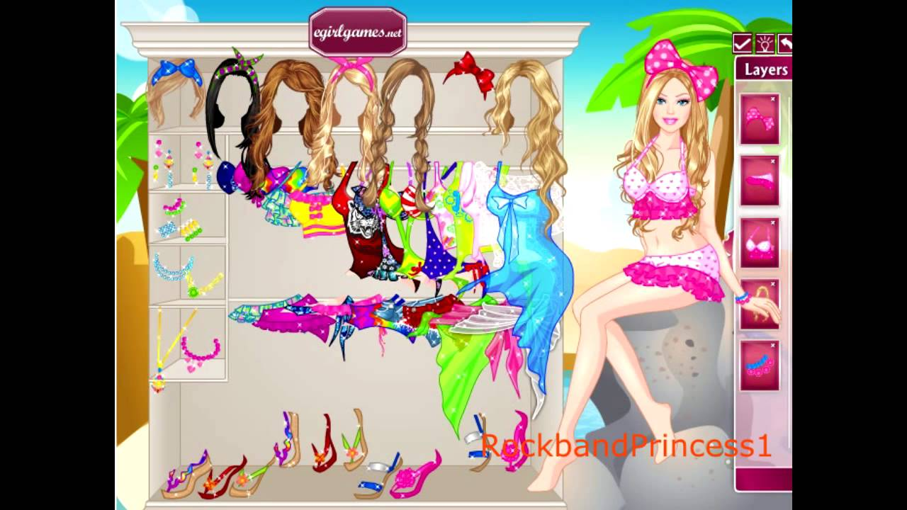 Fashion Barbie Games For Girls Barbie Fashion Dress Up Game