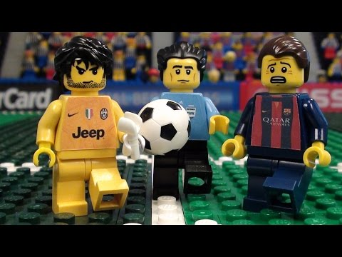 Champions League Final 2015 in LEGO (Juventus v Barcelona)