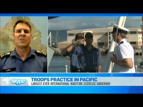 RIMPAC 2012 - Canadian Forces in Hawaii (7/12/2012)