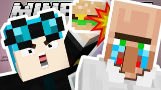 Minecraft | KILLING VILLAGERS WITH FOOD!! | Ultimate Block 3