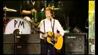 Paul McCartney - Mrs.Vandebilt  Live