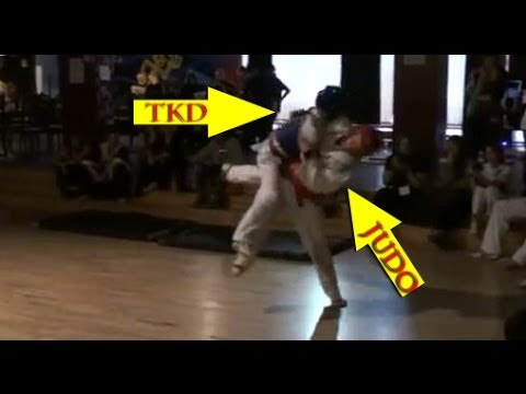 JUDO vs TAEKWONDO - Real Fight 2014 Image 1