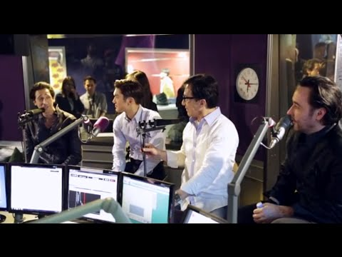 hitz fm Morning Crew with Jackie Chan, Choi Siwon, John Cusack, & Adrien Brody