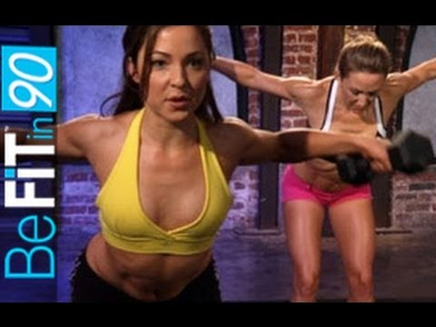 Chest, Legs & Buns Workout by BeFit in 90