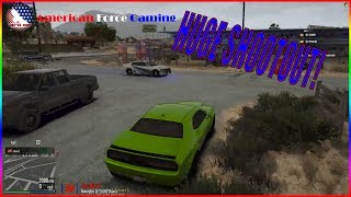 HUGE SHOOTOUT AT THE MOTEL! + MEETING OLD FRIENDS - FIVEM