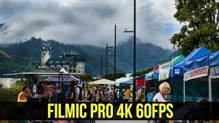 iPhone X FiLMiC Pro 4k 60FPS Test: Nelson Farmers Market NZ