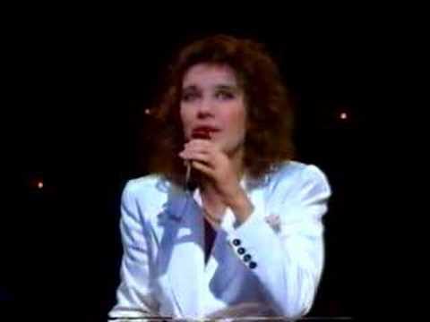 Ne partez pas sans moi - eurovision 1988 - Celine Dion