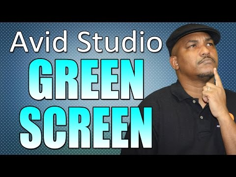 Avid Studio / Pinnacle Studio 16 & 17 - Green Screen & Chroma Key Tutorial