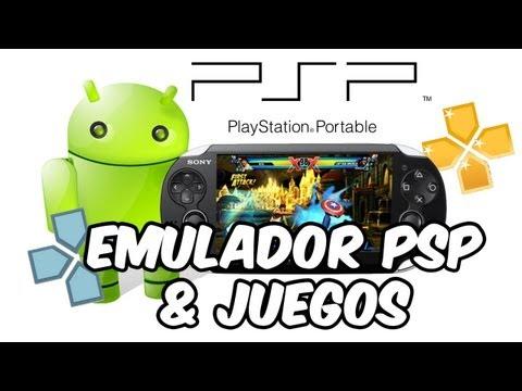Mejor Emulador PSP para Android + Juegos [PPSSPP] [ACTUALIZADO]