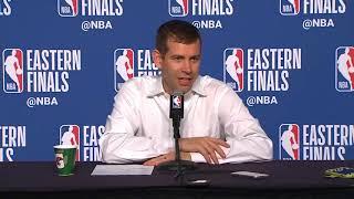 Brad Stevens Postgame Interview / Celtics vs Cavaliers Game 4