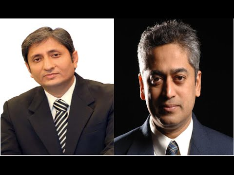 When Ravish Kumar Met Rajdeep Sardesai | NDTV | Indian Elections 2014 | Narendra Modi & Rahul Gandhi
