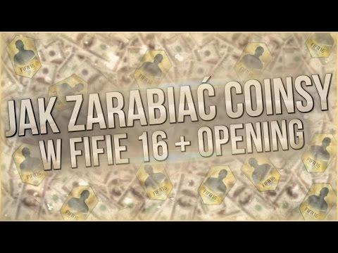 JAK ZARABIAĆ COINSY W FIFA 16 #1 ?  - JAK DOBRZE ZACZĄĆ GRĘ + OPENING PACZEK WEBAPP