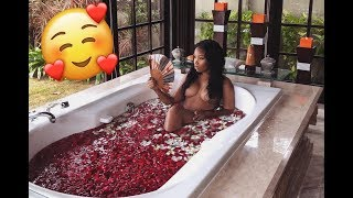MY FIRST BALINESE FLOWER BATH!! | AALIYAHJAY