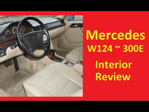 W124 Mercedes Benz 300E Interior Review Video E320 E-Class W 124