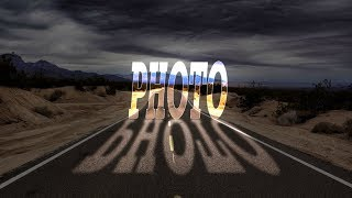 Photoshop Tutorial Glowing text effect and light text effect in photo
